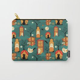 Haunted house Carry-All Pouch