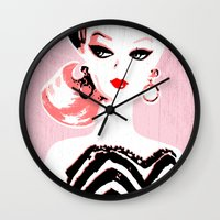 barbie Wall Clocks featuring Classic Barbie by Gigglebox