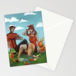 Hoenn Adventure Stationery Cards