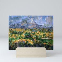Paul Cézanne - Mont Sainte-Victoire - La Montagne Sainte-Victoire Mini Art Print
