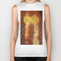 totem Biker Tanks featuring Totem by Sheri L. Wright