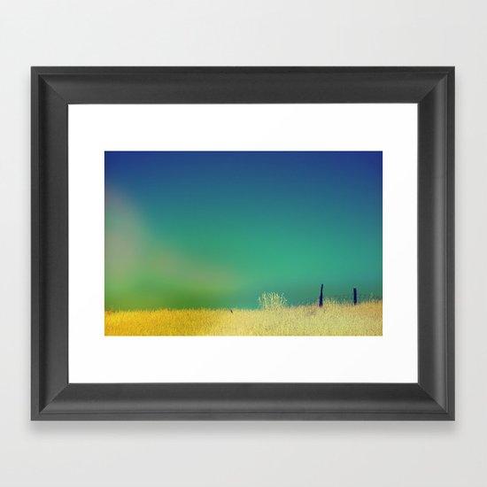 Channel Dream Framed Art Print