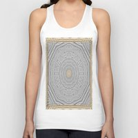 popart Tank Tops featuring Wooden Popart by Pepita Selles