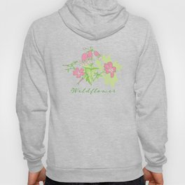Forest Wildflowers / White Background Hoody