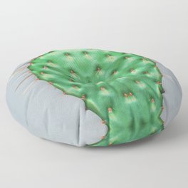 Prickly Pear Cactus Pad Floor Pillow