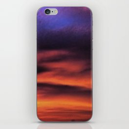 Sunset in the Maldives iPhone Skin