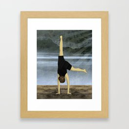 Cartwheel Framed Art Print