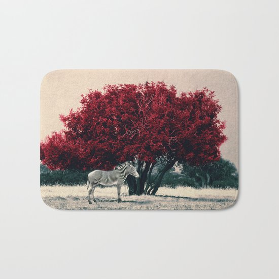 The Red Tree Bath Mat