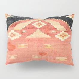 South West Anatolia  Antique Turkish Niche Kilim Pillow Sham