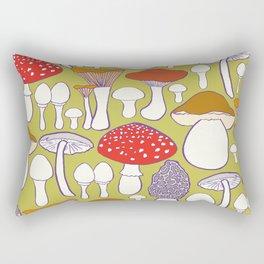 All my mushrooms Rectangular Pillow