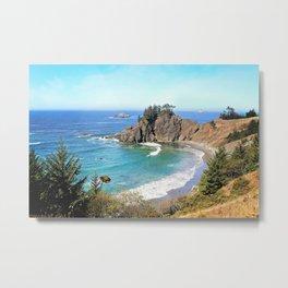 coastal overlook Metal Print