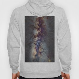The Milky Way: from Scorpio, Antares and Sagitarius to Scutum and Cygnus Hoody
