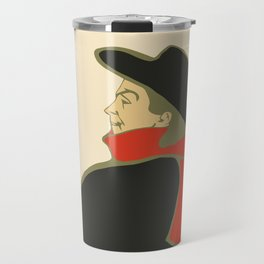 Bruant in his cabaret retro vintage Travel Mug