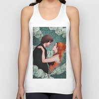eternal sunshine Tank Tops featuring Eternal Sunshine - Meet Me In Montauk by Angela Rizza