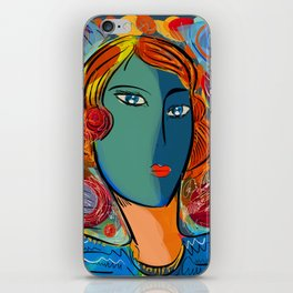 Pop Portrait of the week-end iPhone Skin