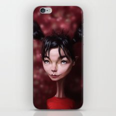 Caricature for a Bjork iPhone & iPod Skin