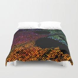 Madagascan Sunset Moth Beauty Duvet Cover