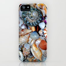 Seashells By the Seashore Slim Case iPhone (5, 5s)
