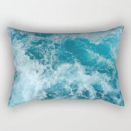 Wave Motion Rectangular Pillow