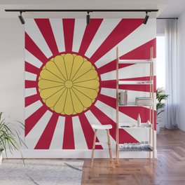 Japanese Flag And Inperial Seal Wall Mural