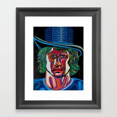 laurence the magician Framed Art Print