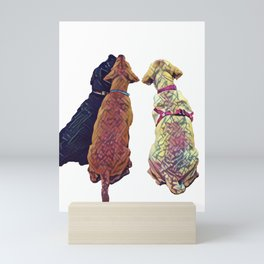 Three Amigos I Mini Art Print