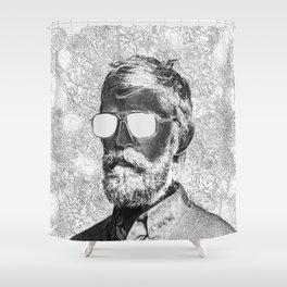 Graphic novelist Shower Curtain