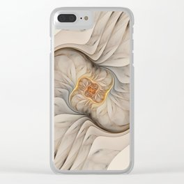 The Primal Om Clear iPhone Case