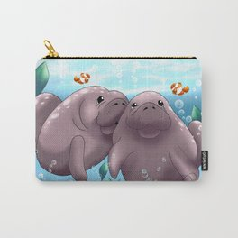 Manatee & Baby Carry-All Pouch