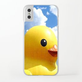 Rubber duck Clear iPhone Case