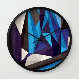 Blue Something Wall Clock