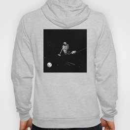 Space Clean Up by Astronaut Hoody
