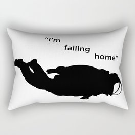 """I'm falling home"" Felix Rectangular Pillow"