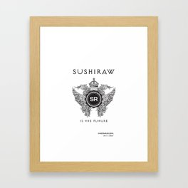 Sushiraw Future Framed Art Print