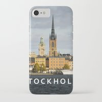 stockholm iPhone & iPod Cases featuring STOCKHOLM by Sara Ahlgren