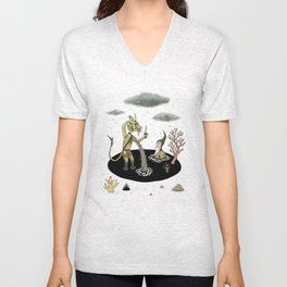 Shifting Tide Pool Unisex V-Neck