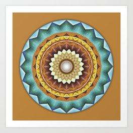 Mandalas from the Heart of Peace 8 Art Print