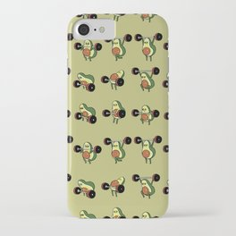OLYMPIC LIFTING  Avocado iPhone Case