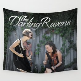 The Darling Ravens Wall Tapestry