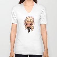 rupaul V-neck T-shirts featuring RuPaul - Season 6 by Pizza! Pizza! Pizza!