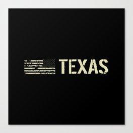 Black Flag: Texas Canvas Print