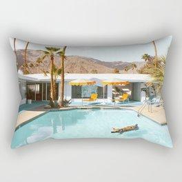 Pig Pool Party Rectangular Pillow