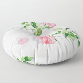 Portrait of late spring Floor Pillow