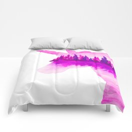 Unicorn Reflection Comforters