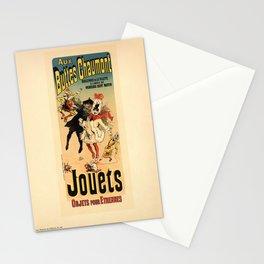 Advertisement pl 141 aux buttes chaumont jouets Stationery Cards
