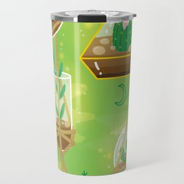 Cacti Terrariums Travel Mug