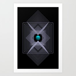 just a little point -1- Art Print