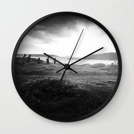 Walk In The Light Wall Clock