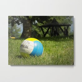 Volleyball Metal Print