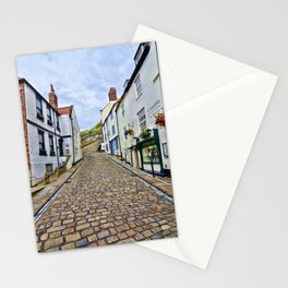 Church Lane Whitby Stationery Cards